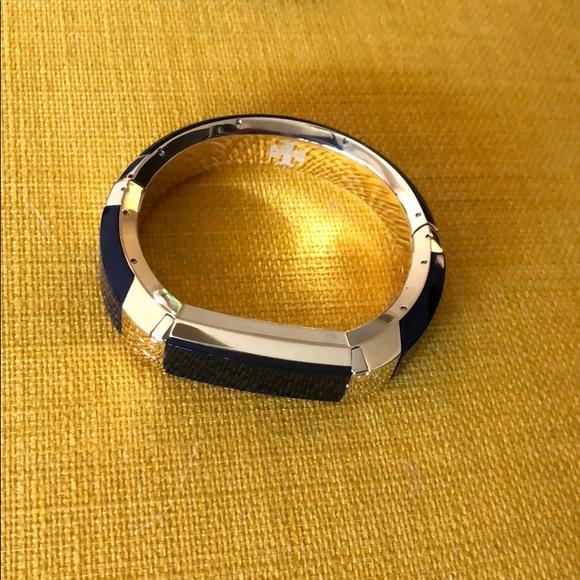 211903c8eb3 Jewelry - Tory Burch Fitbit Alta bracelet in Navy Golden